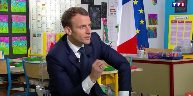 """""""Je dis merci aux retraités"""", """"Je fais ce que j'ai dit"""" : ce qu'il faut retenir de l'interview d'Emmanuel Macron sur TF1"""