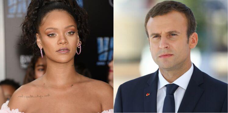 Emmanuel Macron va recevoir Rihanna à l'Élysée