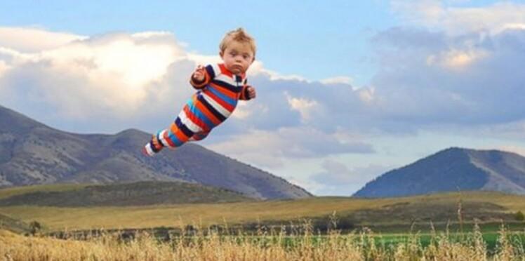 Un papa transforme son fils trisomique en super héros volant