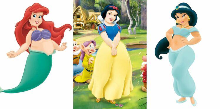 Et si les princesses Disney étaient rondes ?