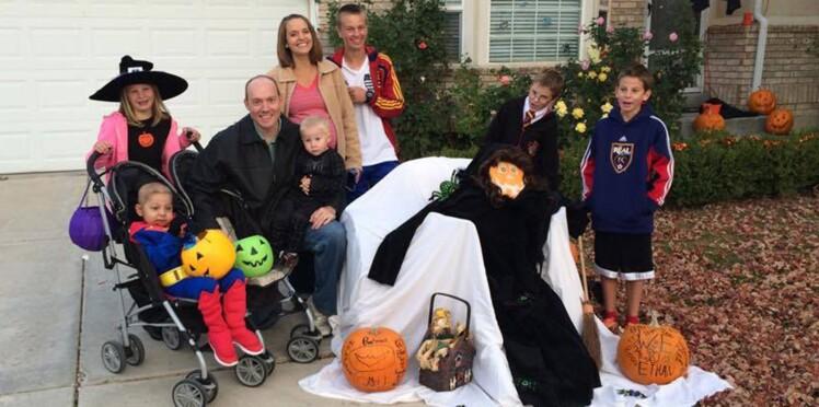 Pour un garçon malade, toute la ville fête Halloween et Noël en avance