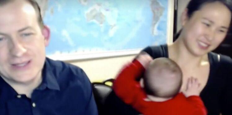 L'expert de la BBC revient sur son direct perturbé par ses enfants
