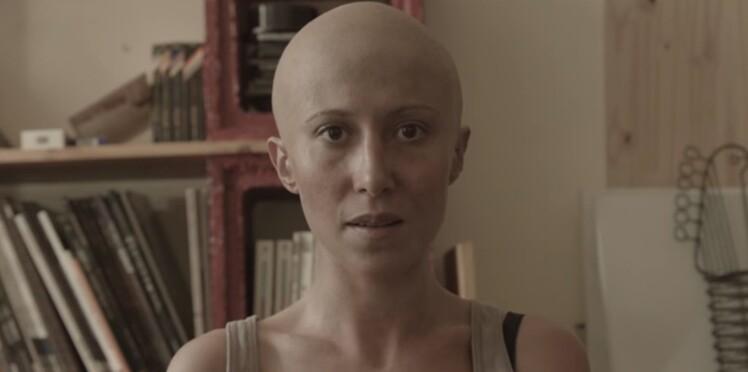 Fabienne Carat de Plus Belle la vie : chauve pour la bonne cause