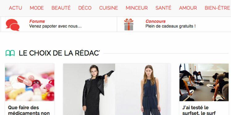 On aime : Femme actuelle, 1ère marque de presse française