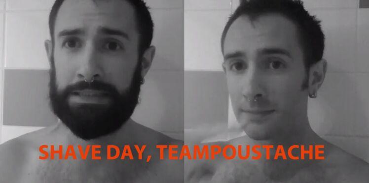 Rasé de près pour Movember, on soutient Fabien, maquettiste à femme actuelle!