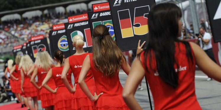 Les bimbos sur les grilles de départ en Formule 1, c'est fini!