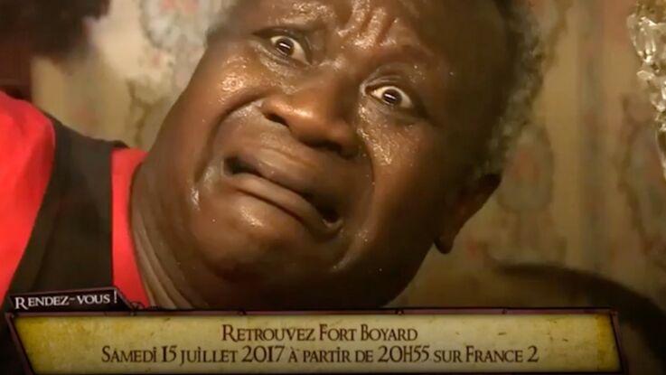 Vidéo - Fort Boyard : La séquence magique de Magloire effrayé par les scorpions