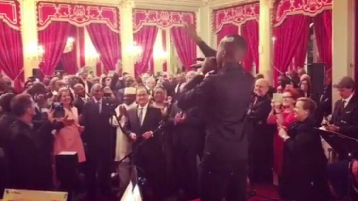 Vidéo : Ségolène Royal et François Hollande se déhanchent sur du Black M à l'Elysée