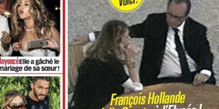 François Hollande et Julie Gayet : première photo ensemble à l'Elysée