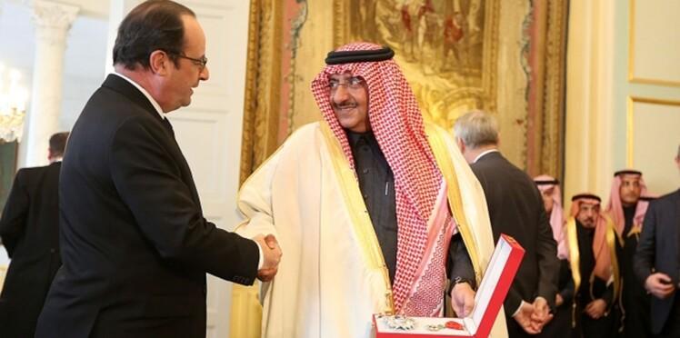 Tollé après la légion d'honneur remise au prince héritier saoudien par François Hollande