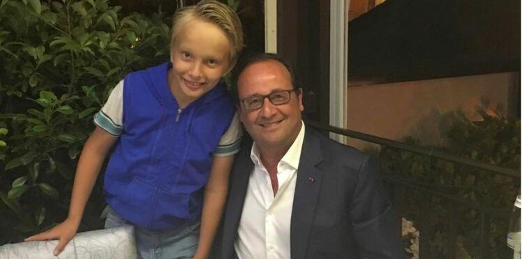 François Hollande se requinque à Saint-Tropez