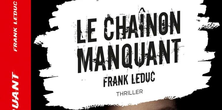 """Frank Leduc, grand gagnant du Prix Femme Actuelle 2018 avec """"Le chaînon manquant"""""""