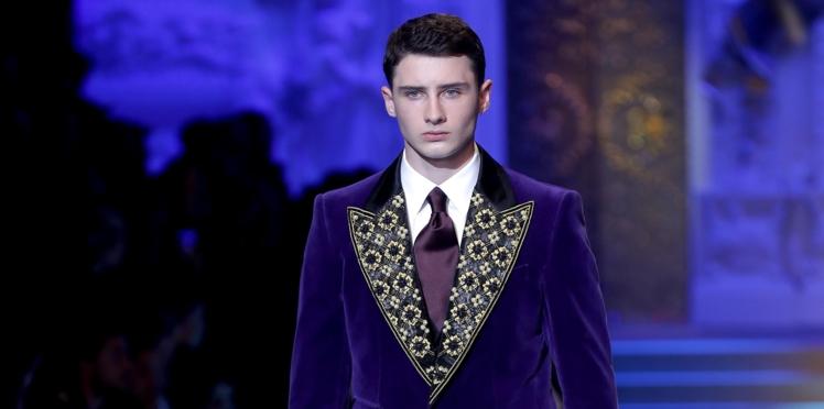 Vidéo - Gad Elmaleh ému aux larmes devant le défilé de son fils, Noé, à la Fashion Week