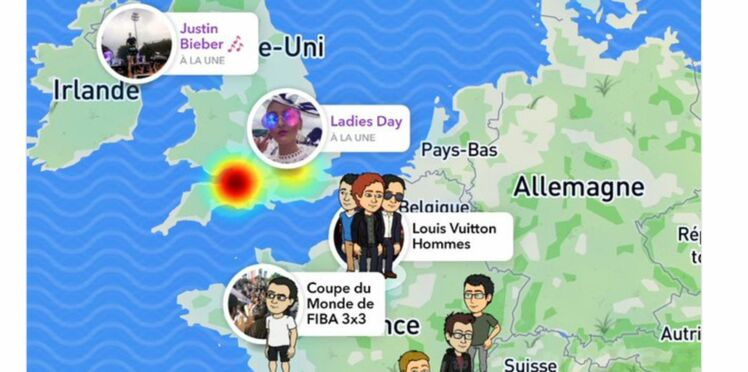 Snap map : La géolocalisation sur Snapchat, une nouvelle fonction qui inquiète