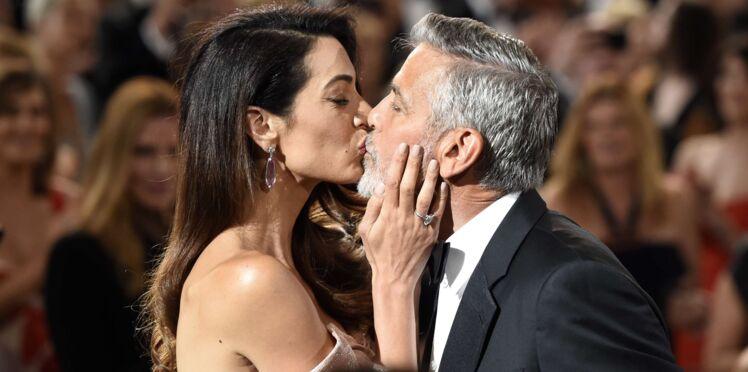 Photo - George Clooney ému aux larmes par une bouleversante déclaration d'amour de sa femme, Amal