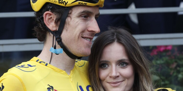 Photos - Geraint Thomas (vainqueur du Tour de France) : qui est sa femme, Sara Elen ?