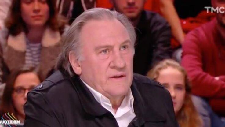 """Gérard Depardieu s'exprime sur l'affaire du testament de Johnny Hallyday : """"c'est pas bien ce qu'il se passe"""""""