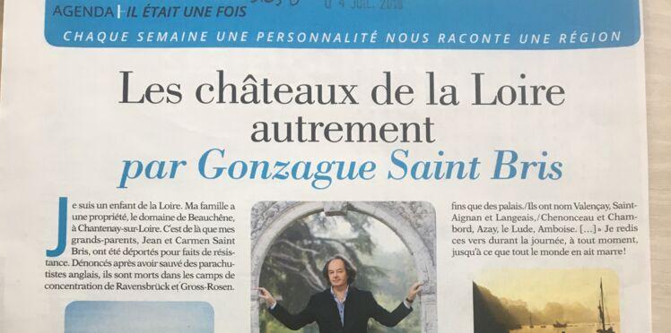 Gonzague Saint Bris nous raconte ses souvenirs d'enfance
