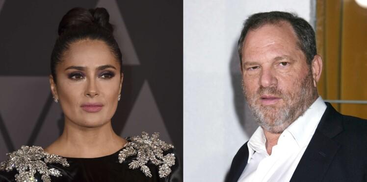 """Harvey Weinstein : Salma Hayek raconte l'emprise du """"monstre"""" qui voulait la """"tuer"""""""