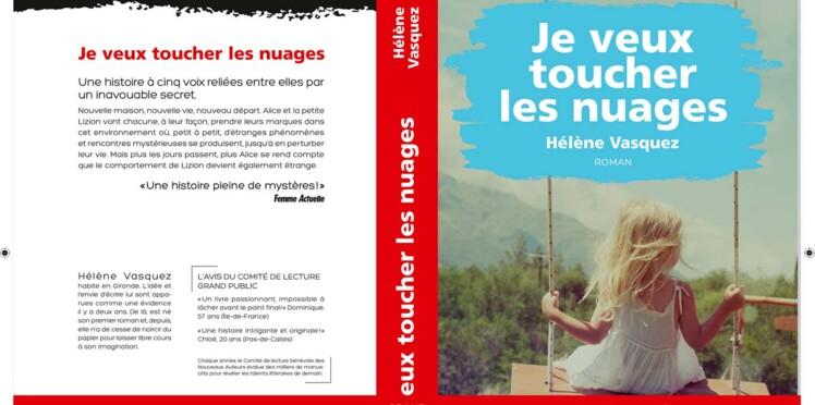"""Hélène Vasquez, Prix coup de coeur 2018 des lectrices de Femme Actuelle avec """"Je veux toucher les nuages"""""""