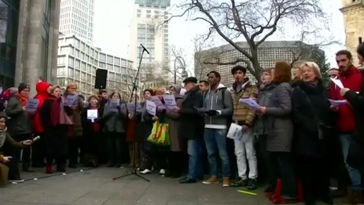 VIDÉO - L'hommage des Berlinois aux victimes de l'attentat du 19 décembre