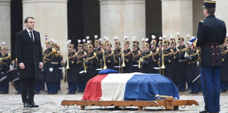 """""""Le nom de l'héroïsme français"""", l'hommage d'Emmanuel Macron au colonel Arnaud Beltrame"""