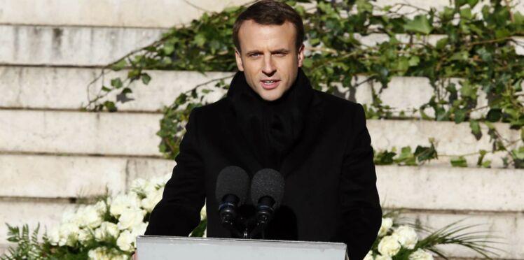 """Hommage à Johnny Hallyday : Emmanuel Macron a """"passé une nuit"""" à écrire son discours"""