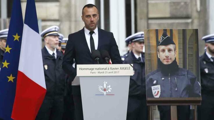 L'hommage bouleversant du compagnon de Xavier Jugelé, le policier tué sur les Champs-Élysées
