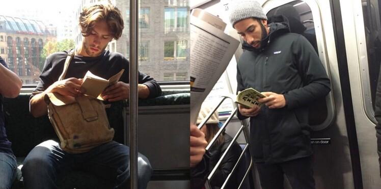 Hot Dudes Reading : un compte Instagram pour les beaux gosses qui lisent dans le métro