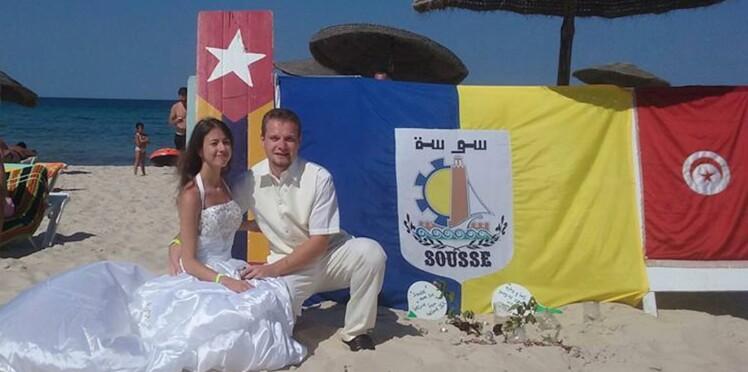 Attentat en Tunisie : ils se marient sur une plage de Sousse après le drame