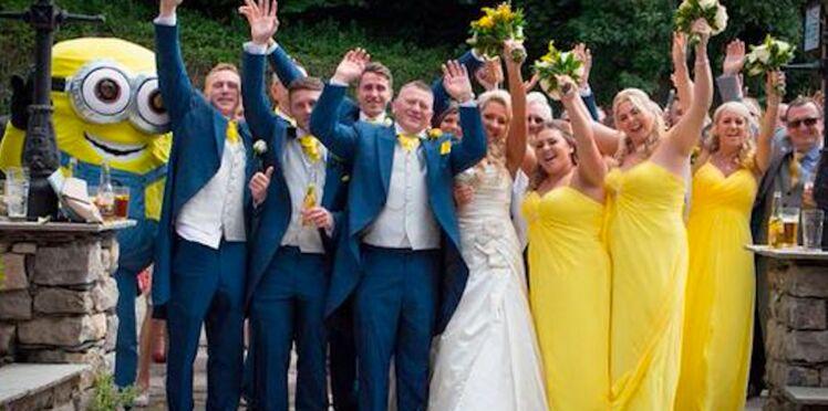 """Ils organisent un mariage très """"Minions"""""""
