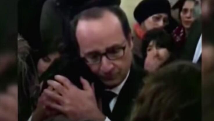 Les images inédites (et émouvantes) de François Hollande avec le frère d'une des victimes de l'Hyper Cacher