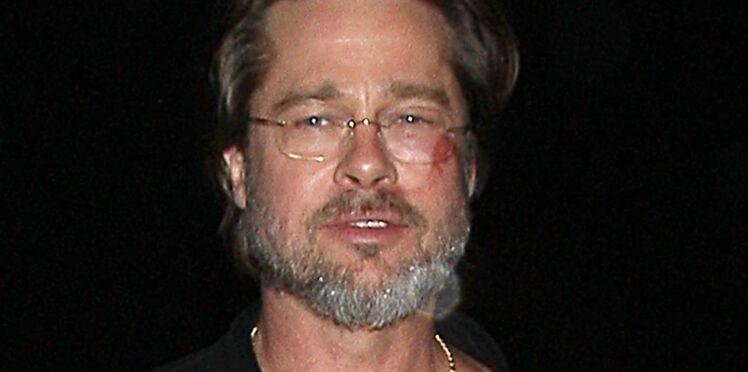 Inquiétude après l'apparition de Brad Pitt blessé à la joue