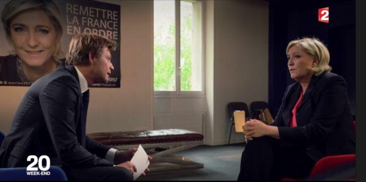 Marine Le Pen interviewée par Laurent Delahousse : les réactions outrées des internautes