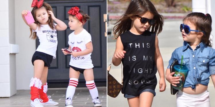 Photos :  Isabella et Scarlett, 2 et 3 ans et déjà blogueuses mode