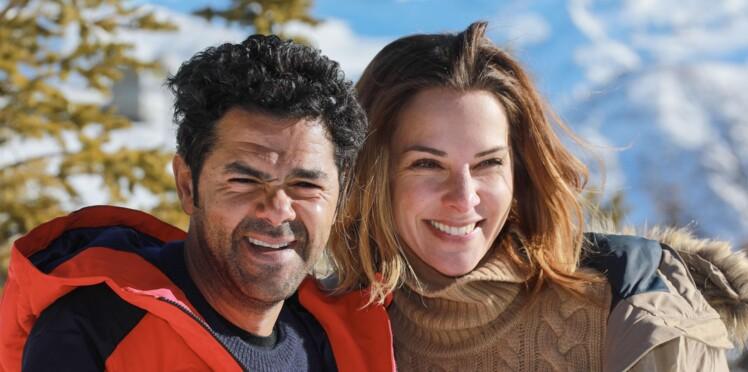 Photos - Jamel Debbouze et Mélissa Theuriau : leur tendre baiser sur les pistes de ski