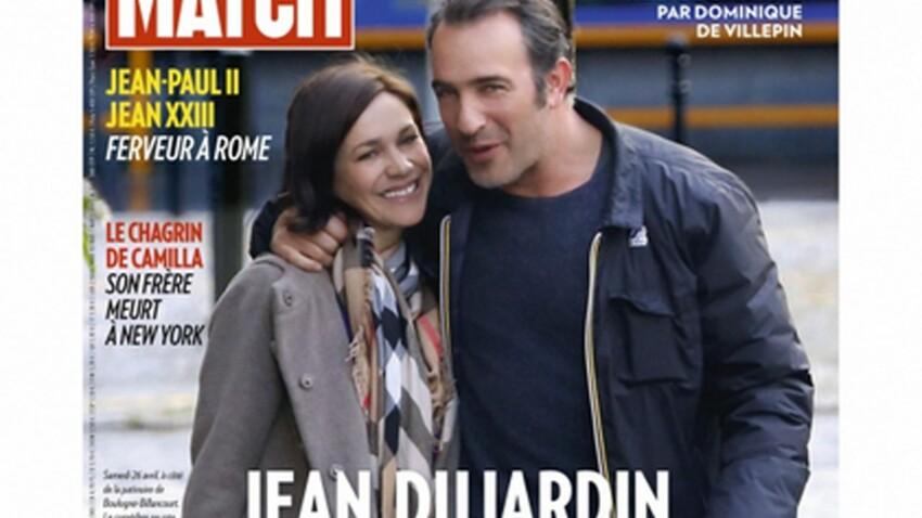 Jean Dujardin : grâce à Nathalie Péchalat il glisse vers le bonheur