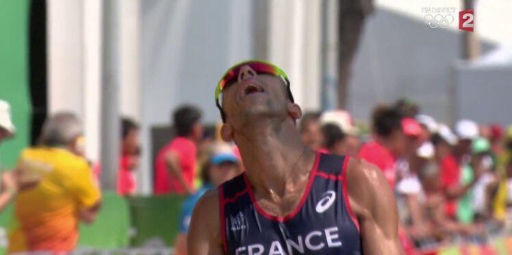 JO: Le marcheur français Yohann Diniz vit un calvaire mais termine sa course