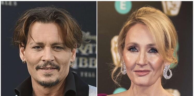 """Johnny Depp, trop violent pour jouer dans """"Les Animaux fantastiques 2"""" ? J.K. Rowling s'exprime enfin"""