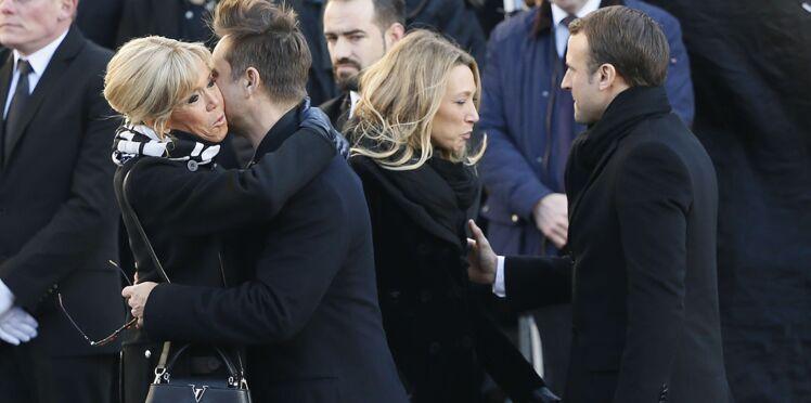 Mort de Johnny Hallyday : comment le couple Macron a convaincu David et Laura d'assister à l'hommage