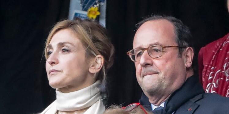 PHOTOS - Julie Gayet et François Hollande, amoureux et inséparables au Stade de France