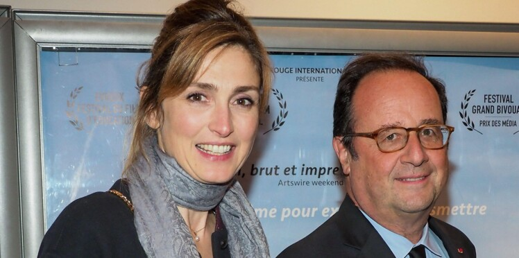 """Julie Gayet, """"plus du tout seule"""", se confie enfin sur sa relation avec François Hollande"""