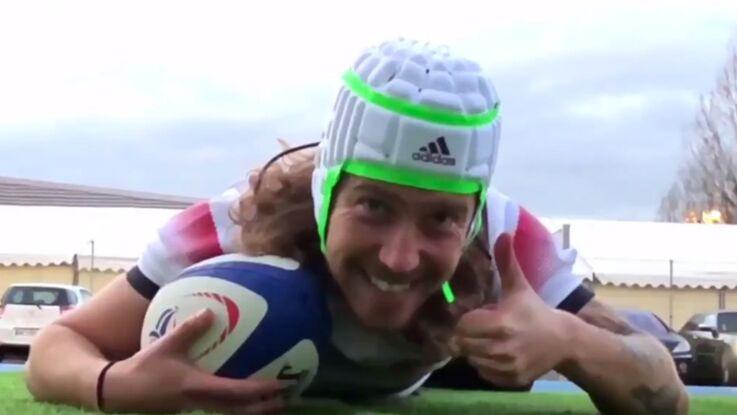 Quand Julien Doré s'amuse de sa ressemblance avec le rugbyman Gabriel Lacroix