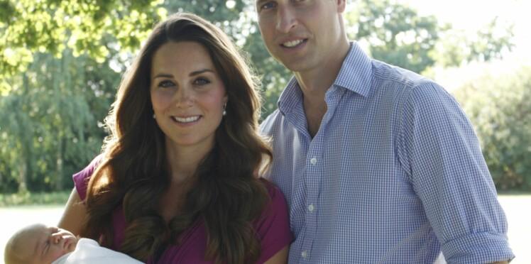 Kate et William : déjà trois parrains pour George