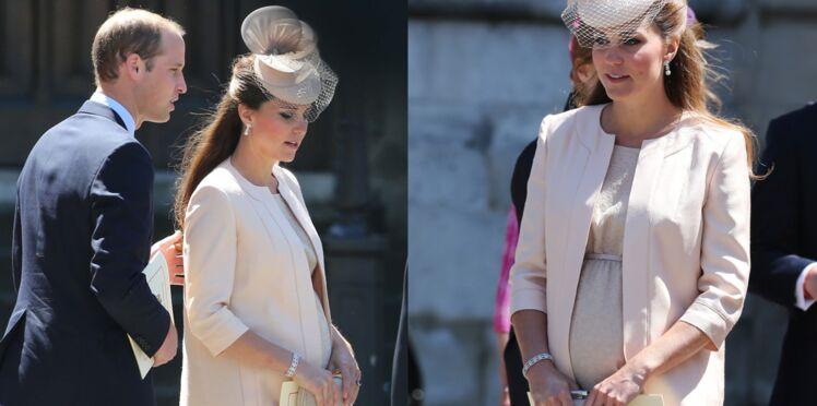 Kate Middleton : bébé pousse bien, merci !
