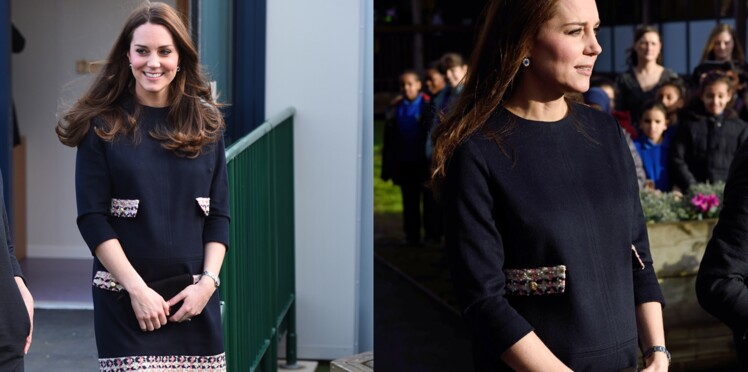Kate Middleton enceinte de six mois : un joli baby bump ! (photos)