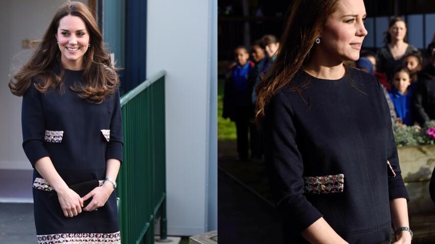 Kate Middleton enceinte de six mois : un joli baby bump ! (photos)