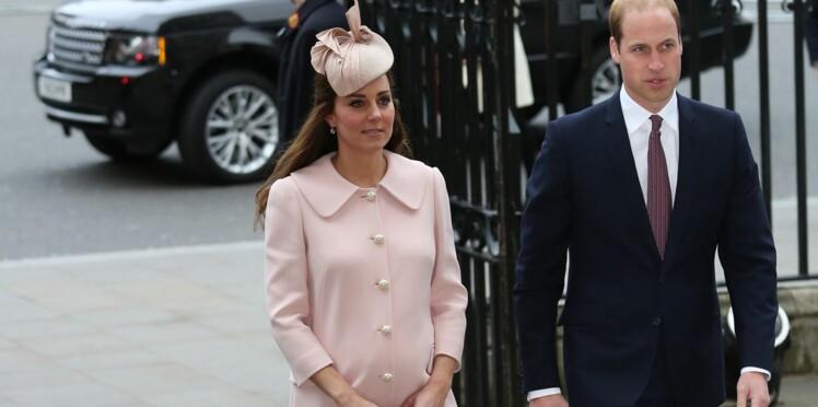 Kate Middleton radieuse, à quelques semaines de l'accouchement !