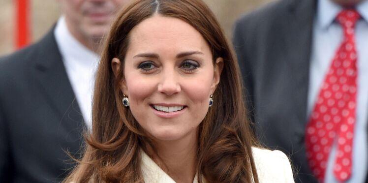 Kate Middleton, radieuse, entame son 7ème mois de grossesse (photos)