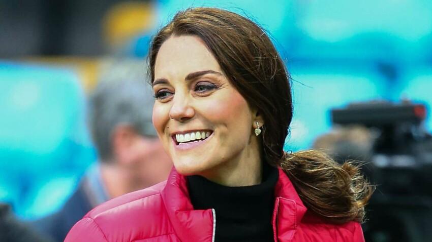 Photos – Kate Middleton enceinte de son troisième enfant : son baby-bump se dessine enfin